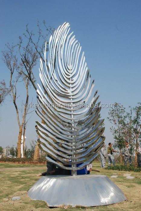 Stainless steel garden modern abstract tree sculpture