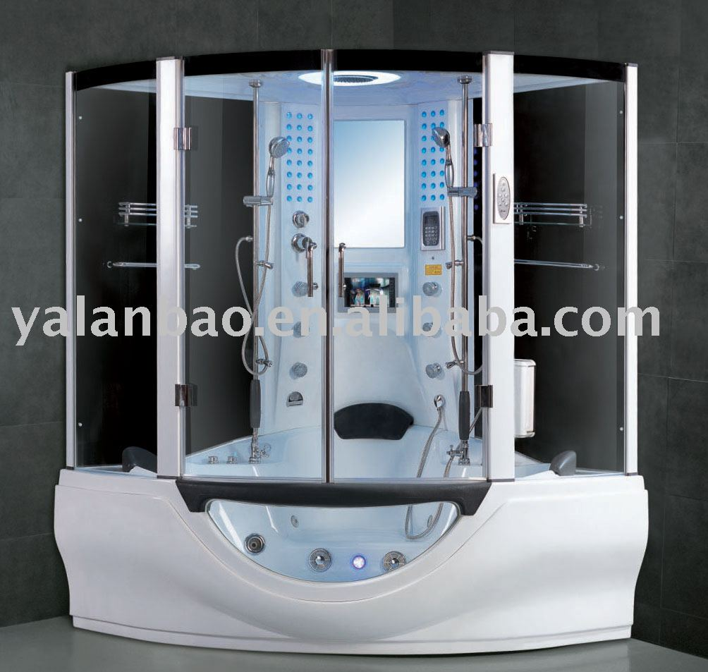 Steam Shower Room With Sauna And Tv G160   Buy Steam Shower Cabin,Shower  Cabin With Tv,Shower Bathtub Product On Alibaba.com