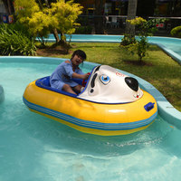 Hot Sale New Design FRP Body Cartoon Adult Electric Bumper Boat For Sale