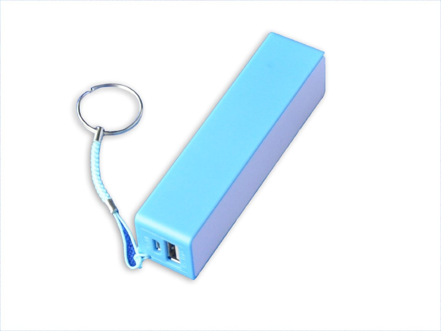 Wondermart 2600mAh 5200mAh 10400mAh 12000mAh Universal High Capacity Power Bank Portable External Battery Charger Pack for Cell Phones Smart Phones Tablets Camera Game and Other USB-Charge Devices (27# 2600mAh Blue)