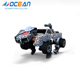 9 function plastic radio control stunt deformation robot monster truck toy