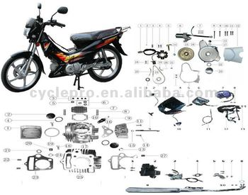 Motorcycle Parts Catalog Request