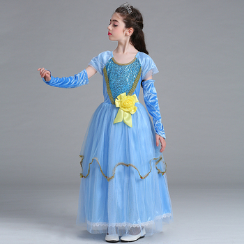 Halloween Costumes China Wholesale Kids Princess Girl Dress Of 9