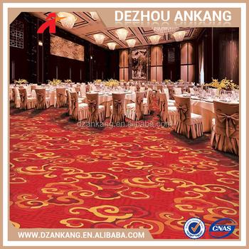 Factory Hot Hotel Corridor Printed Carpet Luxury Polyester Rug Waterproof Bathroom