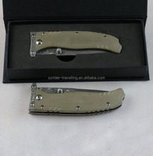 OEM <span class=keywords><strong>damascus</strong></span> steel trống folding pocket hunting knife