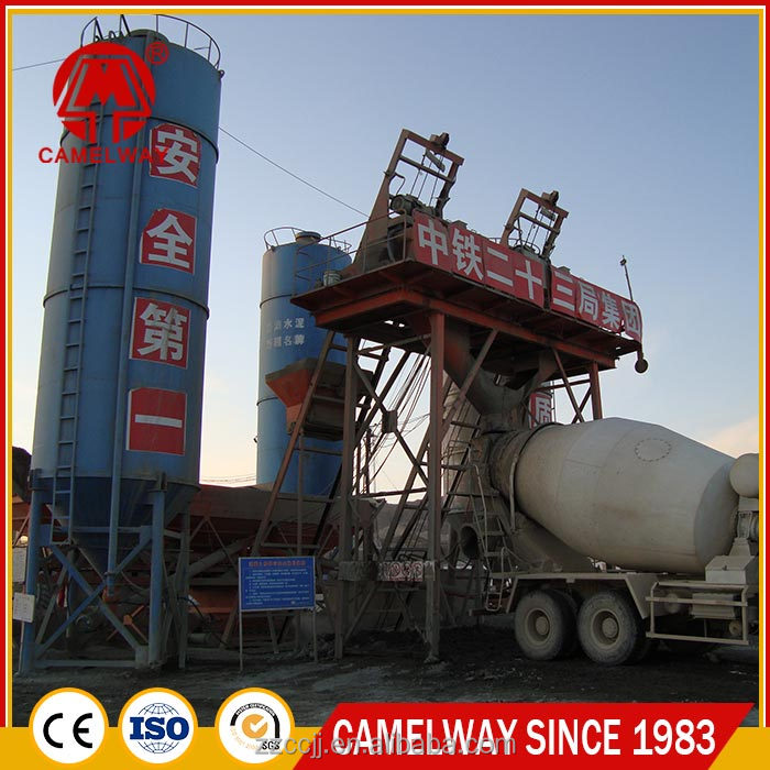 home used 25 road construction concrete batching plant