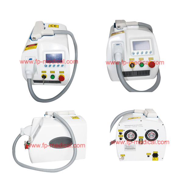 Q switched /nd yag laser/ laser tattoo removal machine
