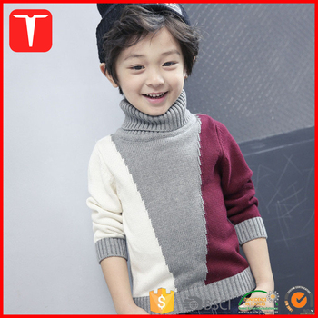 Stylish Turtleneck Knitting Patterns Boys Sweaters Buy Knitting
