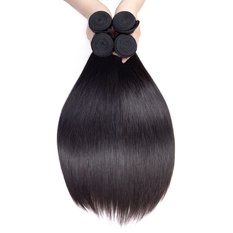 Grade 10A Straight Raw Virgin Mink Braziliaanse Haar