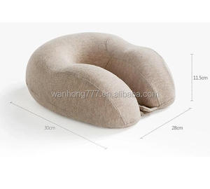 Neck Pillow 010 100% Polyurethane Visco Elastic Memory Foam Travel Pillow