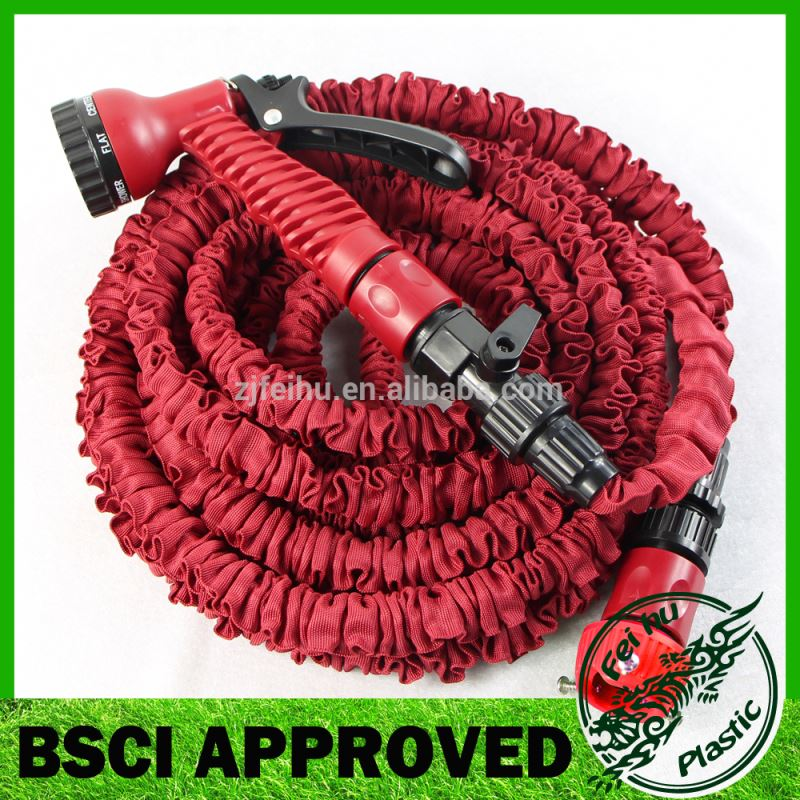 Garden Hose 25 Ft Expanding Water hose Coil Best Flexible Expandable Retractable Collapsible Shrinking Hoses