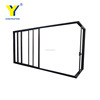 YY window AS2047 retractable interior sliding doors interior room divider used double door