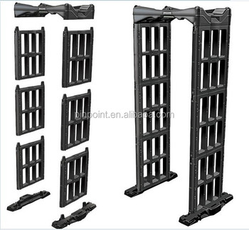 Security arch metal detector door and portable door frame metal detector for sale from China walkthrough