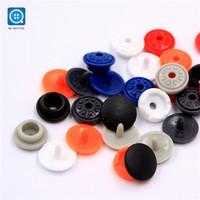 SK Wholesale Custom Plastic Snap Button 15mm Cheap Plastic Snap Button for Clothing