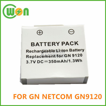 a5dd2019cf6 Replacement battery for Jabra GN netcom GN 9120 headset battery 3.7V 350mAh