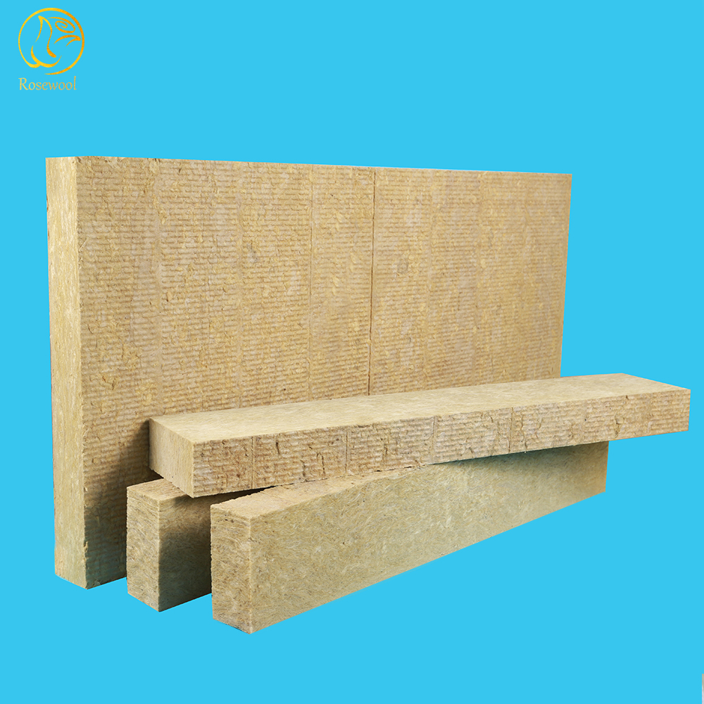 Fire-resistant high quality rock wool insulation pipe aluminum foil