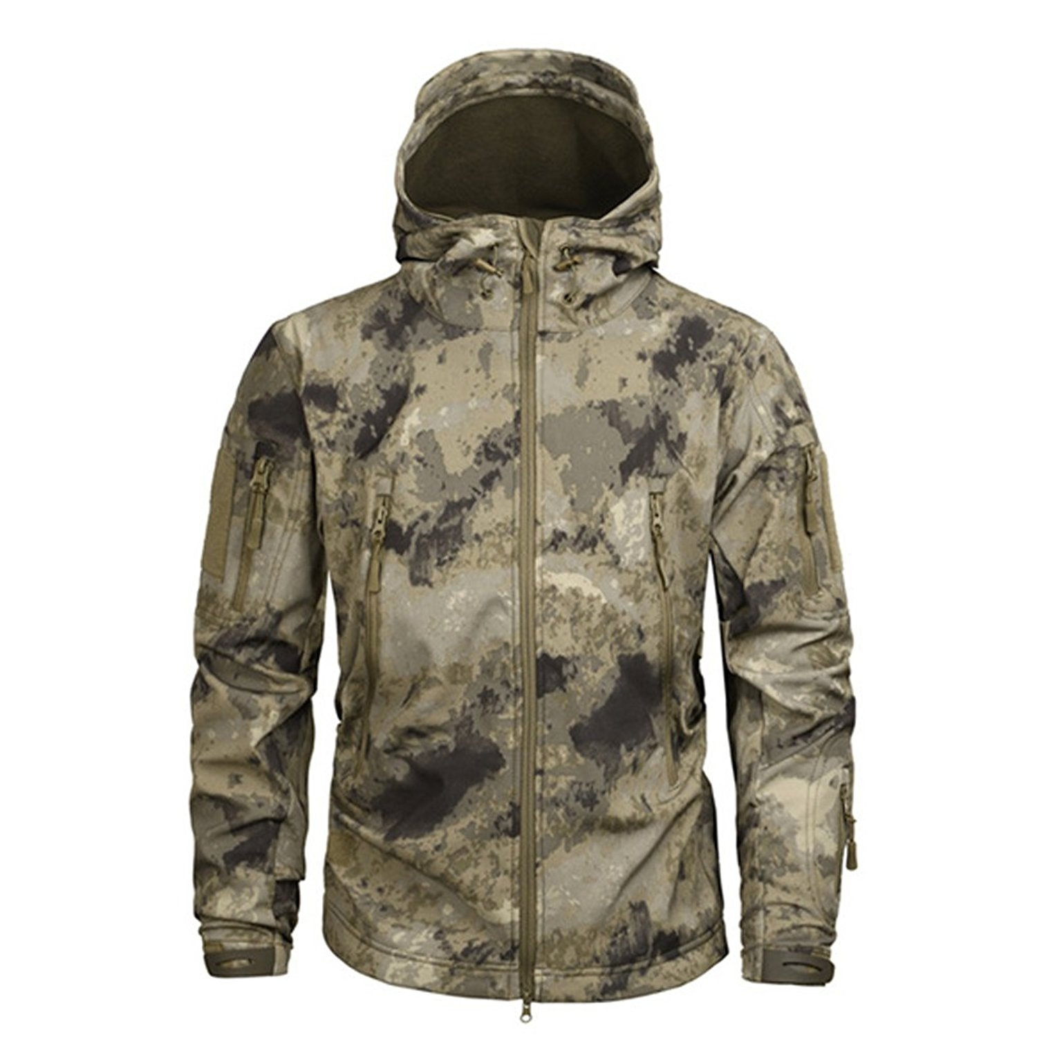 8a08bda1c409 Clothing Men Military Jacket US Army Tactical Sharkskin Softshell Autumn  Winter Outerwear Camouflage Jacket and Coat