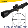 New 2016 Marcool Evv First Focal Plane 6-24x50 side focus red green illumination and lockable optic rifle scope manufactures
