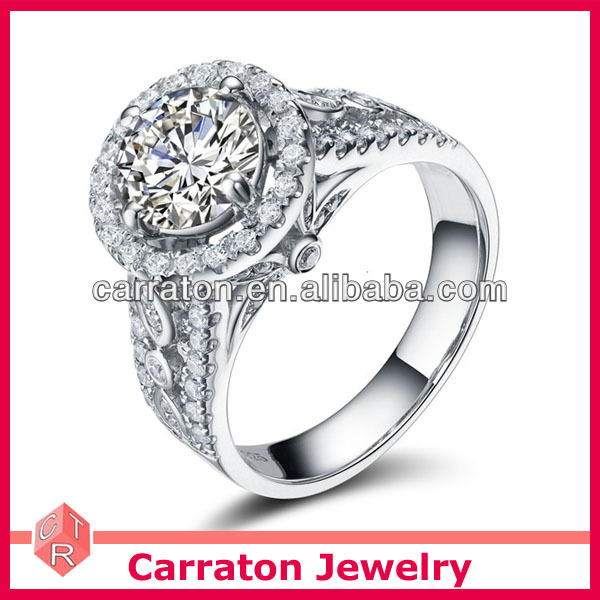 Sterling Silver Jewelry Wholesale New Model Wedding Ring With Price