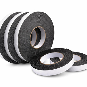 Double stick rubber EVA fire resistant foam tape