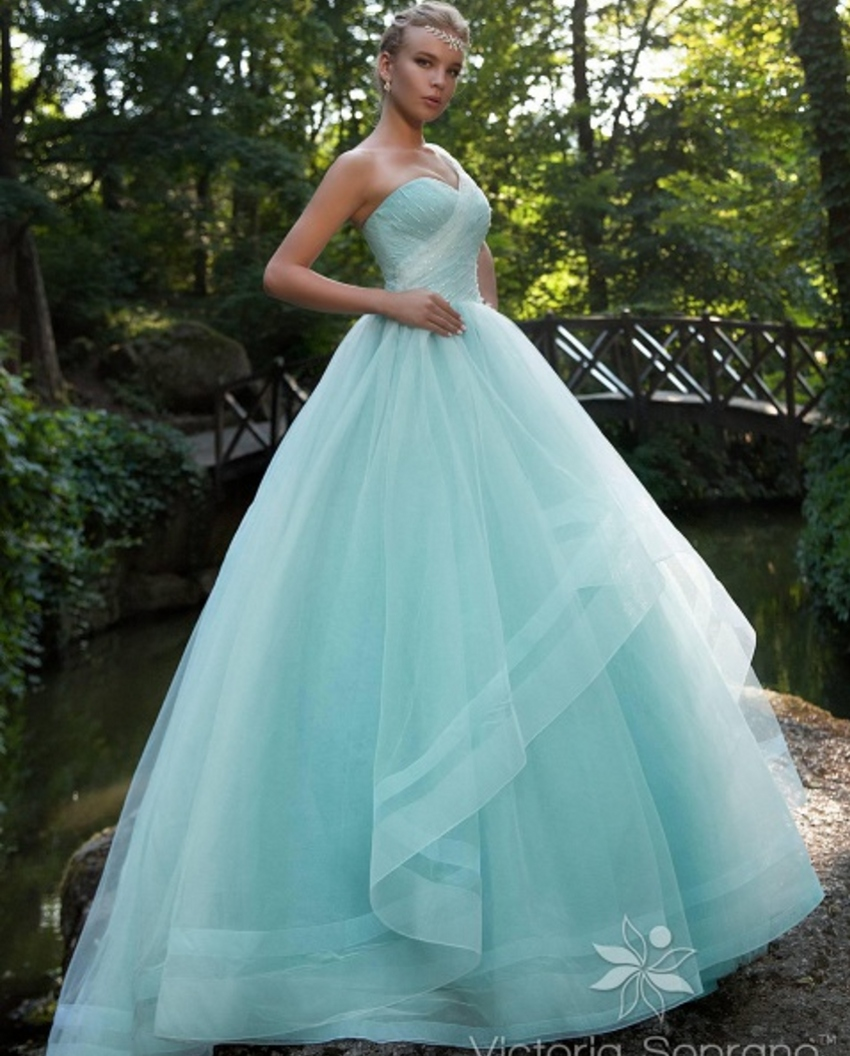 Discount Wedding Gowns: Aliexpress.com : Buy Cheap Bridal Bride Ball Gown Sky Blue