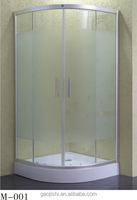 Frosting glass aluminium shower cabin comfort