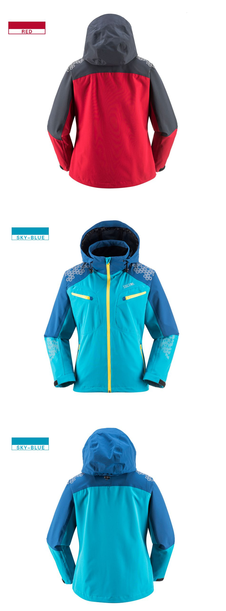 Detail Feedback Questions about VECTOR Outdoor Jacket Men Women ... 8173eb2bf
