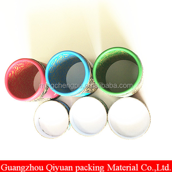 wholesale luxury cardboard paper round cylinder box packaging tube with lid
