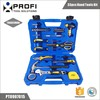 33pcs cheap portable bicycle repair tool kit with stotage case