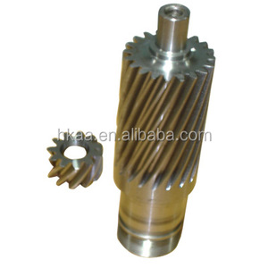 high precise hobbing service helical gears for motor
