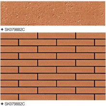 hot sales construction materials decorative ceramic bricks split similie tiles for exterior & interior wall for vietnam market