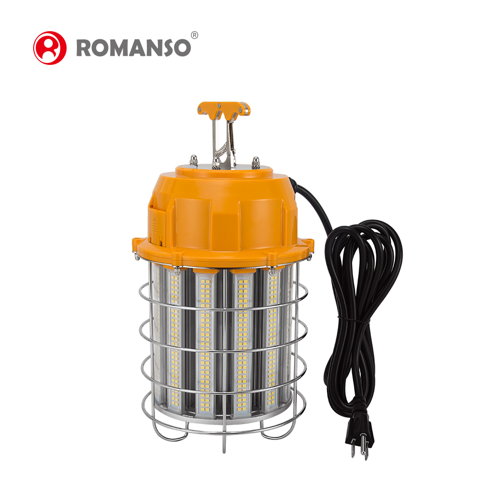 China new selling IP64 led portable work light 60w 100w 150w waterproof led temporary job light Construction String Lights