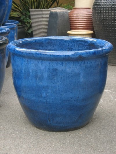 Pot de 4 tomber bleu plein air pot pots fleurs for Plant de pot exterieur