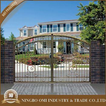 Small Iron Gate 2016 JIA China Supplier Simple Design Main Door Frame DesignsHot Sale Galvanized