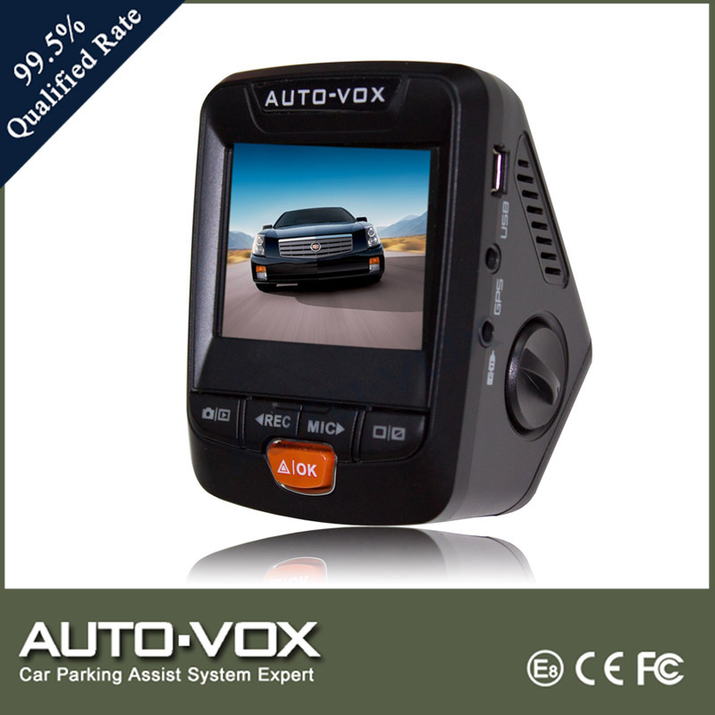 Factory Wholesale Vehicle Blackbox DVR FullHD 1080P Car Camera with CE&RoHs