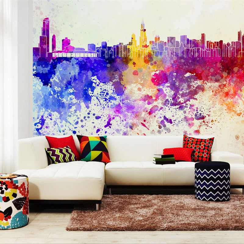 Photo Wallpaper Abstract Art Wall Mural Non Woven Modern