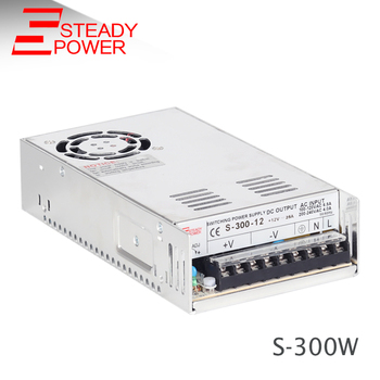 300W 12V 25A Power Supply SMPS S-300-12 12V ac dc Power Supply, View ...