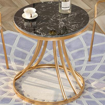 Cheap Round Black Marble Top Modern Side Tables For Sale Buy