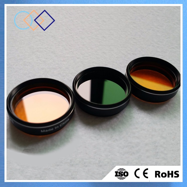 High precision optical color filters