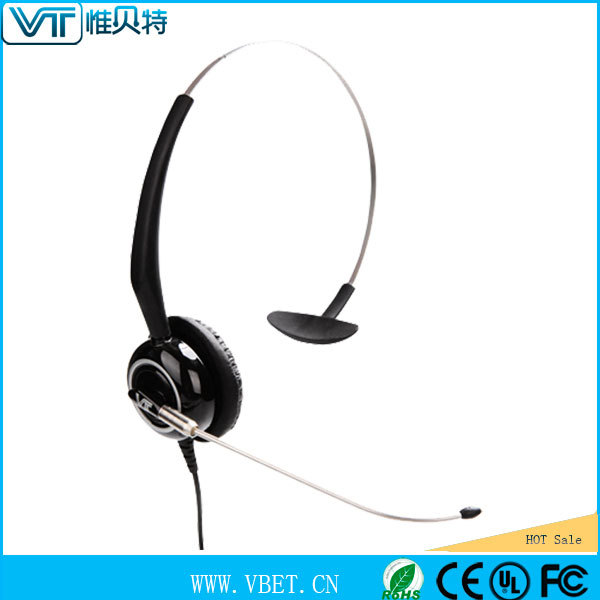 Headset for Cordless Phones with cardioid lightweight headsets