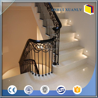 Factory price colored aluminium handrail for stairs
