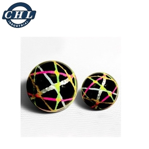 Custom 22mm synthetic rubber bouncing ball
