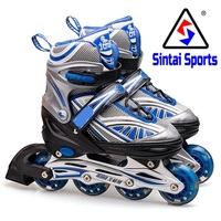 kids adjustable single flashing roller skate