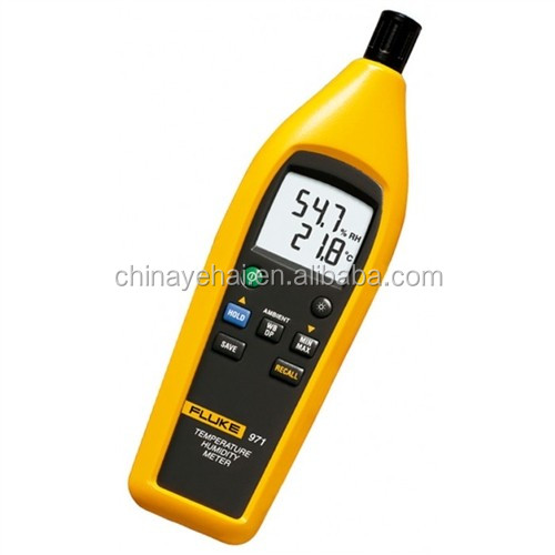 Fluke Humidity Probe : Fluke temperature humidity meter original hygrometer