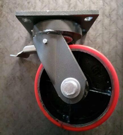 3Ton Roda Putar dan Castor Perakitan