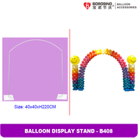 B408 Wedding balloon arch