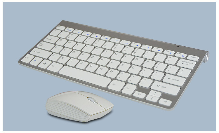 wireless mini keyboard mouse Ultra-slim multimedia keyboard and mini mouse