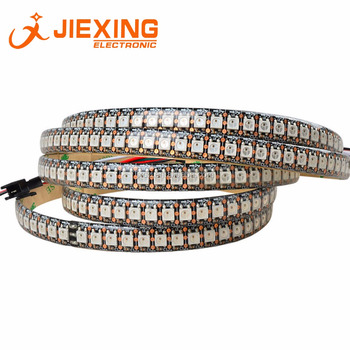 WS2812B RGB LED Strip 5V 5050 144 LED Black PCB Waterproof IP65