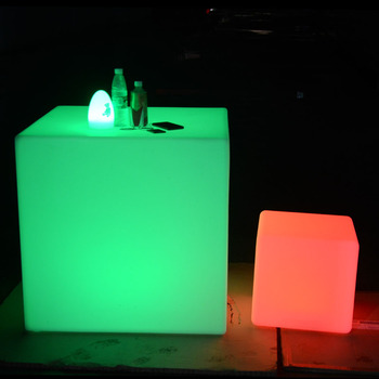 led cube chairs for adult wedding event party led furniture light cube seat chair lighting