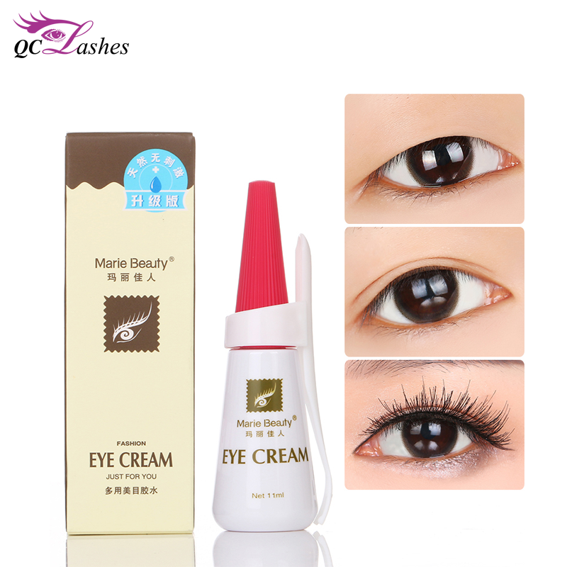 Hot selling sterke lash lift lijm valse wimper extension lijm 12 ml valse strip wimper lijm
